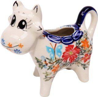 Polish Pottery Ceramika Boleslawiec, 0501/238, Creamer Cow
