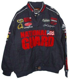 Dale Earnhardt Jr National Guard Cotton Jacket x: Sports