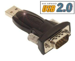 USB 2.0 Serial RS 232 DB 9 MINI Adapter with Detachable