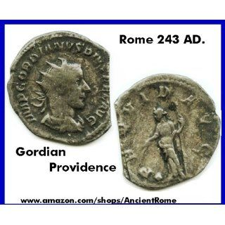IMPERIAL ROMAN EMPIRE GORDIAN. SILVER. PROVIDENCE HOLDING