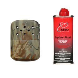 Zippo Camo Hand Warmer Wih Premium Ligher Fluid
