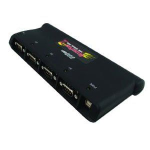 USB Serial Hub II 4 Port Rohs Rs 232 Serial To USB Electronics