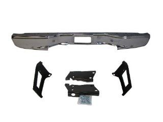 1999 2007 SILVERADO/ SIERRA 2500HD 3500 FLEETSIDE REAR BUMPER CHROME