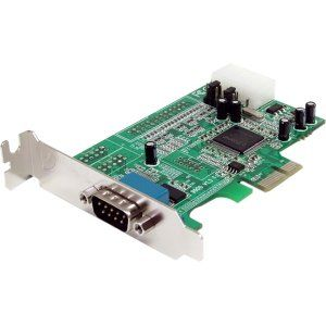 SERCRD. 1 x 9 pin DB 9 Male RS 232 Serial PCI Express Office Products