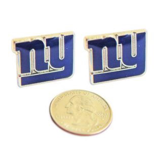 New York Giants Stud Logo Earrings