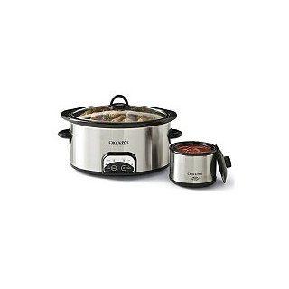 6 Quart Crock Pot Smart Pot with Travel Bag and 16 Oz
