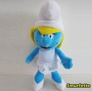 The Smurfs 12 Stuffed Toy Plush Doll   Smurfette: Toys