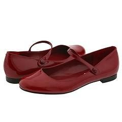 Steve Madden Astaire Red Patent Flats