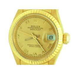Pre owned Rolex Lady Womens 18k Yellow Gold Watch