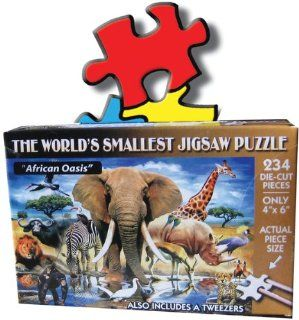 Jigsaw Puzzle 234 Pieces 4 Inch X6 Inch African Oasis