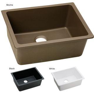 Elkay ELGU2522 E granite 25x18.5 in Single bowl Undermount Sink