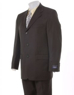 Chaps Ralph Lauren Dark Olive Three button Suit