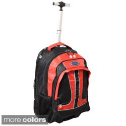 World Traveler Rolling Upright Computer Laptop Backpack Today $59.99