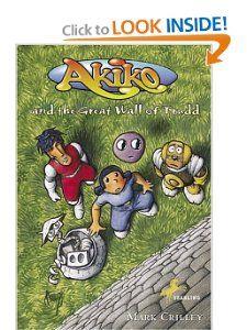 Akiko and he Grea Wall of rudd Mark Crilley 9780440416548