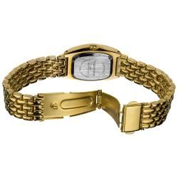 Vernier Womens Gold Tone Classic Feminine Quartz Watch