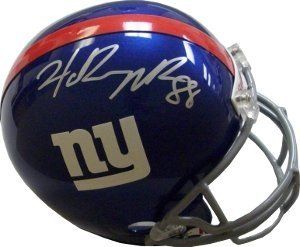 Hakeem Nicks Autographed/Hand Signed New York Giants Full