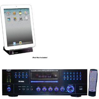 Pyle Stereo Receiver and iPod Dock Package   PD3000A 3000