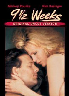 9 1/2 Weeks (Uncut) Kim Basinger, Mickey Rourke, Margaret
