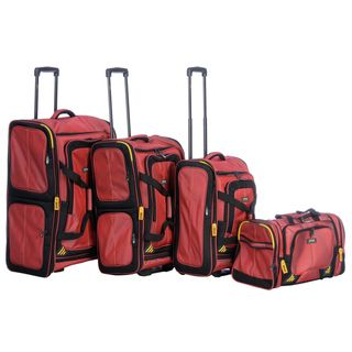 Lucas Accelerator 4 piece Luggage Set