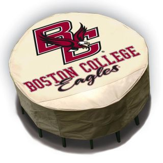 Boston College Eagles Round Patio Set Table Cover