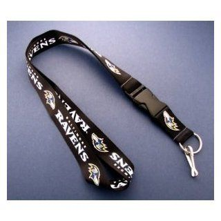 Baltimore Ravens Lanyard with Keychain (High Quality