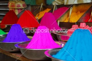 Color powder for Holi Festival  Stock Photo © Bhupendra Singh