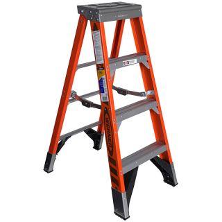 Werner 48 inch Fiberglass Step Ladder