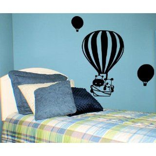 CUTE HOT AIR BALLOONS WALL DECAL: Everything Else