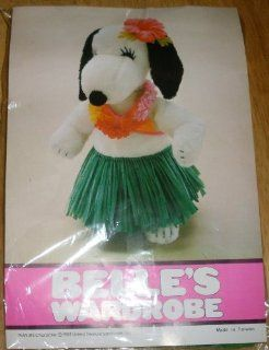 VERY RARE! Peanuts Belles Wardrobe Hawaiian Hula Outfit