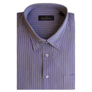 Bugatchi Uomo Mens Long sleeve Multi Stripe Button front Shirt