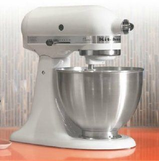KitchenAid K45SSWH Classic Tilt Head Stand Mixer w