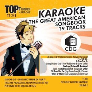 Top Tunes Karaoke TT 244 American Songbook Vol 2; Rod