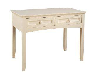 Powell Parker White Desk