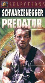 Predator [VHS] Arnold Schwarzenegger, Carl Weathers
