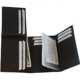 New Flip Up Mens Wallet & Card Holder Trifold BR #239 Clothing