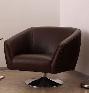 Cape Swivel Chair Cigar Brown