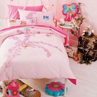 Fairy Bower Twin size 2 piece Duvet Cover Set