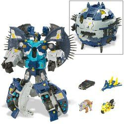 Transformers Supreme Primus with Mini Cons Toys & Games