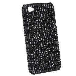 Black Diamond Snap on Case for Apple iPhone 4