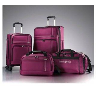 Samsonite Versatility 360 4 Piece Luggage Set   Rose   4