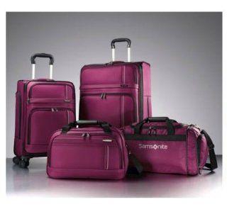 Samsonite Versatility 360 4 Piece Luggage Set   Rose   4