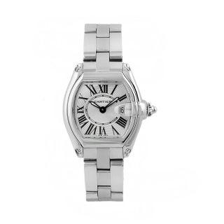 Cartier Mens Ballon Bleu Two tone Stainless Steel 18k Watch
