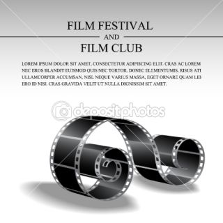 Film strip vector template eps10  Stock Vector © Huszka Janos