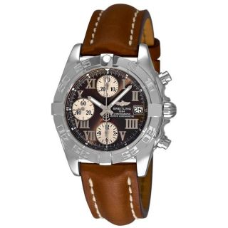 Breitling Mens Chrono Galactic Automatic Chronograph Watch
