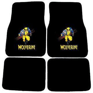 Wolverine X Men Mutant Marvel Comics Logo Front & Rear Seat Car Truck