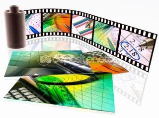 Film with photos  Stock Photo © Vasyl Nesterov #1357287