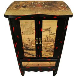 Landscape Two Door Cabinet (China)