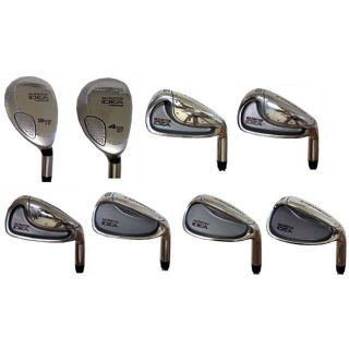 Adams Graphite Idea Iron Set with Hybrids