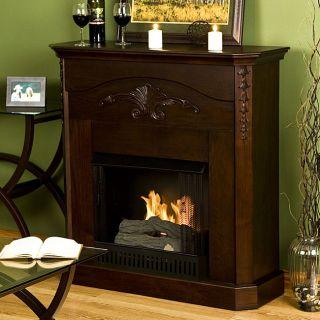 Concord Espresso Gel Fuel Fireplace