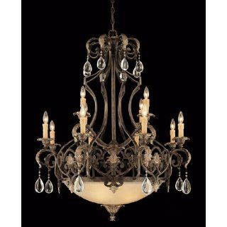 Savoy House 1 7182 12 241 Chinquapin 12 Light Two Tier Chandelier in